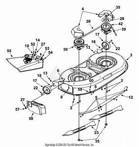 Mtd 13af693g118  2002  Parts Diagram For Deck Assembly  U0026quot G U0026quot