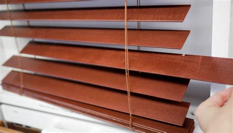 Where Can I Get Blinds by How To Clean Even The Grimiest Faux Wood Blinds The