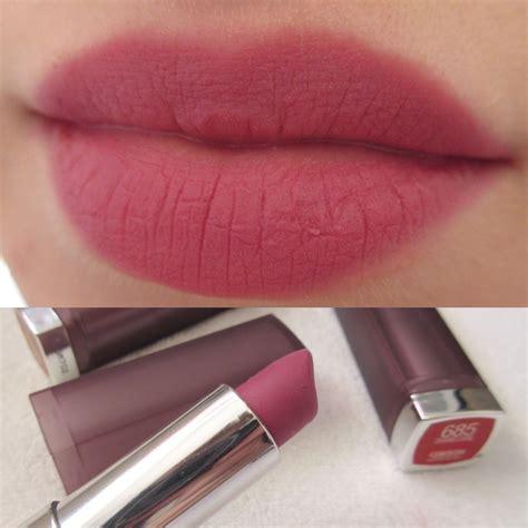 maybelline color sensational matte lipstick maybelline color sensational matte lipstick review