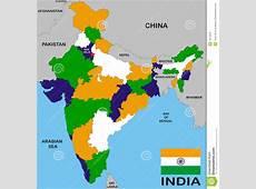 India map stock illustration Illustration of nepal, china