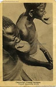 1929 Les negresses/femmes à plateaux/Saucerlip Ubangi ...