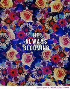 Always Be Bloom... Blooming Relationship Quotes