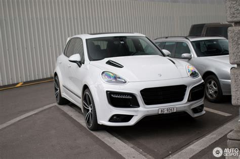 Porsche Cayenne Techart Magnum 2018 28 November 2018