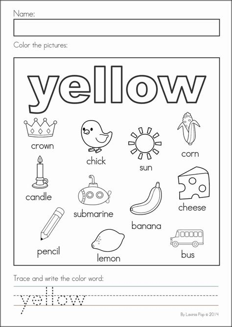 10 best images about color preschool theme on