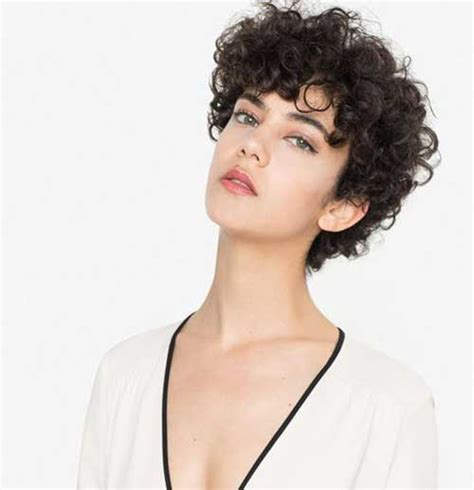 effective styles for short curly hair short hairstyles