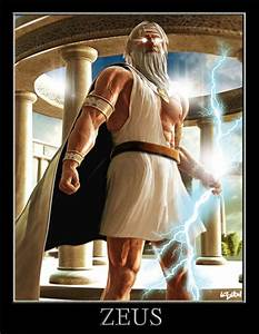 Top 10 Illustrations of Zeus - The King of all other Gods