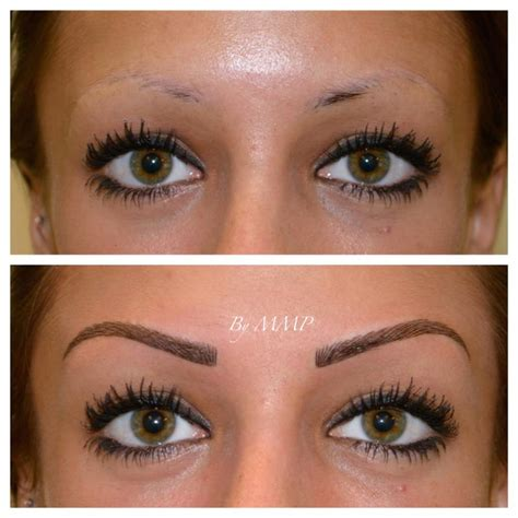 Photos De Maquillage Permanent Sourcils  Sourcils Info