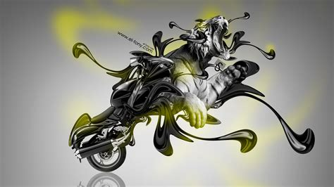 suzuki hayabusa fantasy super plastic tiger bike