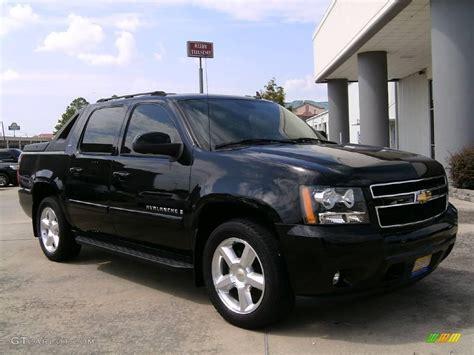 2007 Black Chevrolet Avalanche Ltz #15198335 Gtcarlot
