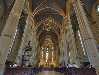 Zagreb Cathedral Croatian Croatia Attractions Main Croatia2go