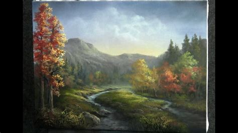 paint  kevin hill autumn river youtube