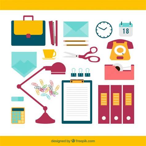 Office Supplies Vector office supplies vector free