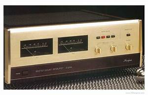 Accuphase P-300l - Manual - Stereo Power Amplifier