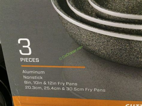 henckels capri granitium pk aluminum fry pan set