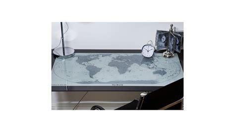 bureau chrome achetez votre bureau en verre et chrome carte du monde