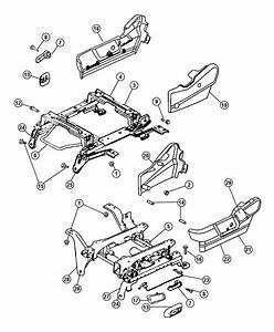 Dodge Ram 1500 Riser  Seat  With  Xz9  Assembly Plant Part
