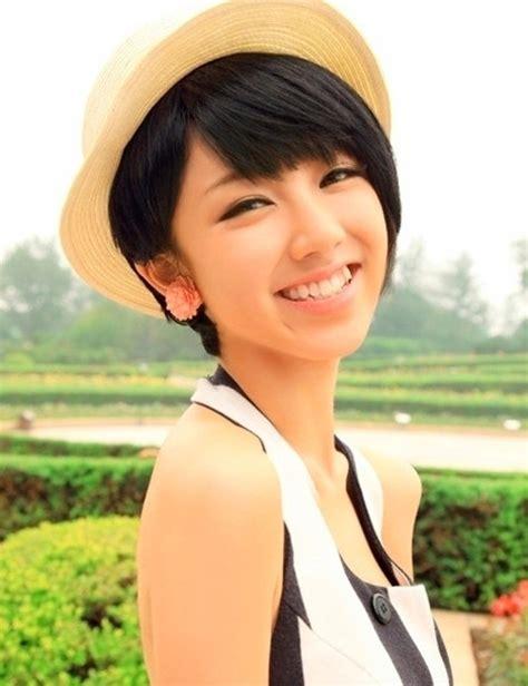 cute hat hairstyles 30 cute short haircuts for asian girls 2019 chic short