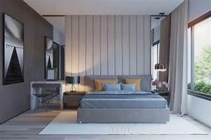 Couleur chambre design 42 espaces domines par le gris for Couleur gris clair peinture 0 couleur chambre design 42 espaces domines par le gris
