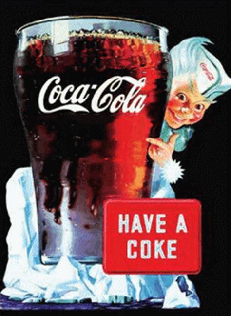coca cola gifs animes