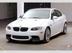 2013 BMW M3 E92 DCT Competition Package Alpine White Fox