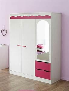 Kinderzimmer Schrank Mädchen : kleiderschrank wei pink m dchenzimmer kinderzimmer schrank spiegelschrank lilan ~ Indierocktalk.com Haus und Dekorationen