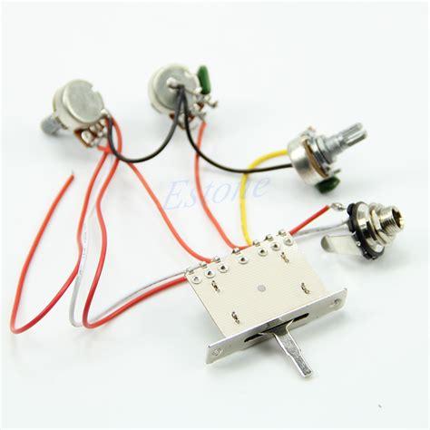 Useful Guitar Wiring Harness Pickup Way Switch
