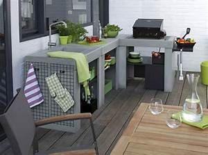 comment bien amenager une cuisine exterieure With comment faire une cuisine exterieure