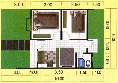 gambar denah rumah minimalis type   desain minimalis