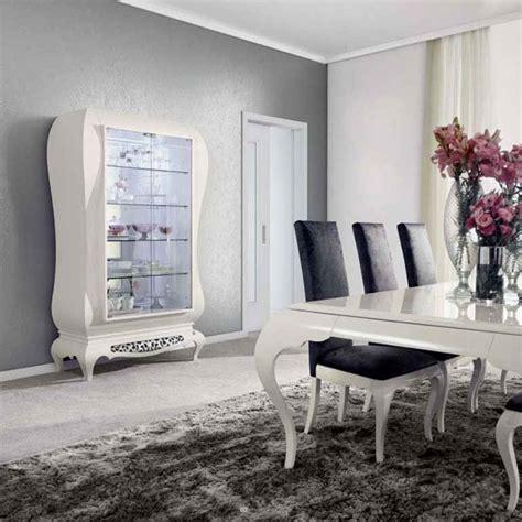 peinture taupe chambre salle à manger moderne laque blanc argent york