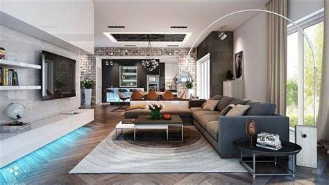 Son Moda Modern Salon Dekorasyonu Örnekleri Ev Dekorasyon