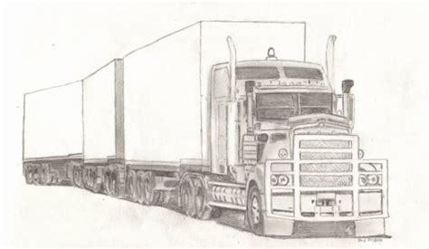 camion croquis