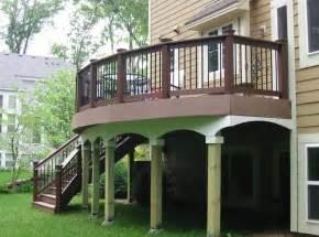 outdoor garden interesting raised backyard deck design