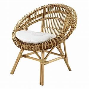Fauteuil Maison Du Monde : fauteuil en rotin smoothie maisons du monde ~ Teatrodelosmanantiales.com Idées de Décoration