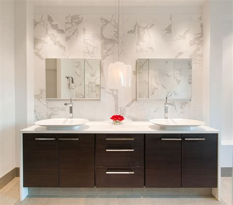 Modern Bathroom Makeup Vanity by Modern Vanity With Modern Tap Fixture Bathroom