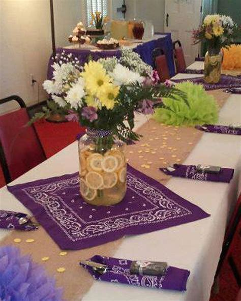 Like The Bandanas For Table Decorations If She Wants