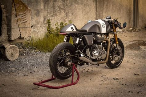 Royal Enfield Continental Gt 650 Modification by Royal Enfield Continental Gt Cafe Racer Bikebrewers