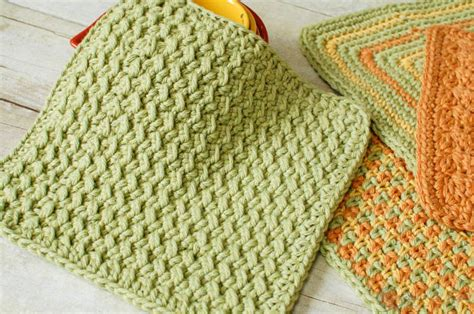 crochet dishcloth patterns fiber flux 30 free crochet dishcloth patterns
