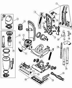 Dirt Devil Ud40285 Upright Vacuum Parts