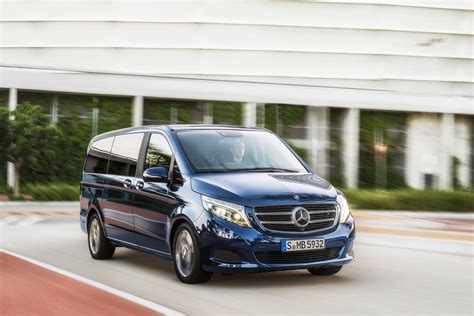 luxury minivan new mercedes v class luxury minivan pictures and details