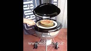 Four A Pizza Weber : forno pizza weber youtube ~ Nature-et-papiers.com Idées de Décoration