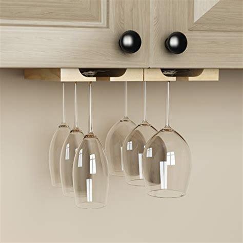 cabinet stemware rack wood hanging cabinet stemware wine glass holder rack