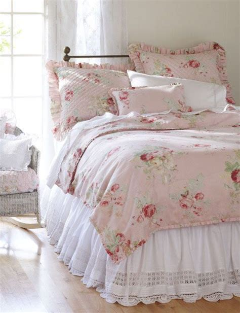 shabby chic woodrose bedding 102 best images about cottage or shabby chic bedroom or bedding on pinterest shabby bedroom