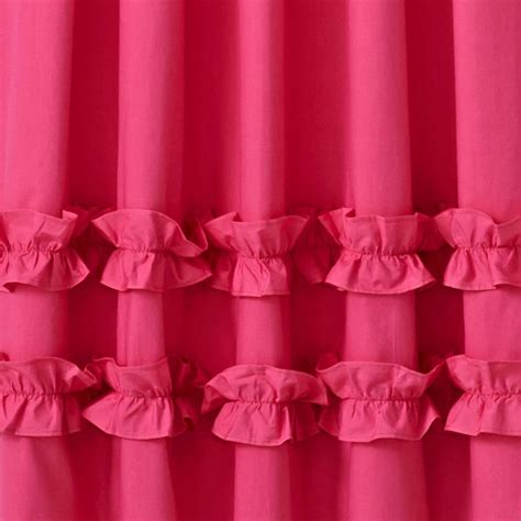 pink ruffle curtains 96 curtains white ruffle curtain panels the