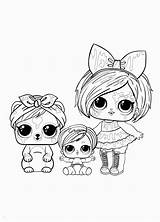 Lol Omg Coloring Surprise Doll Coloriage Dolls Printable Sheets Winter Colouring Hairgoals Printables Dessin Coloriages Animal Summer Disegni Mermaid Pets sketch template