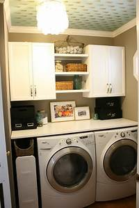 small laundry room ideas Small Laundry Room Ideas to Try   KeriBrownHomes
