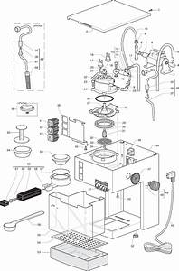 Gaggia Cubika Parts Diagram Sin015xn Er0202 01 Rev02 User