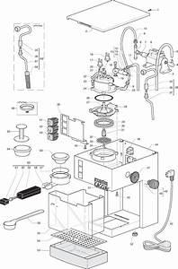 Gaggia Cubika Parts Diagram Sin015xn Er0202 01 Rev02 User