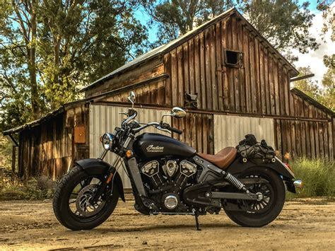 Indian Scout In Front Of A Perfectly Dilapidated Old Barn