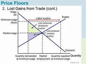 chapter 4 price ceilings and price floors ppt download With minimum wage price floor