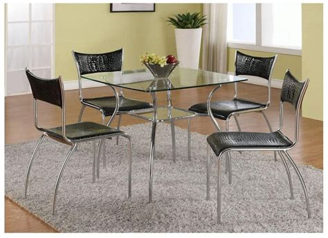 18+ Square Glass Top Dining Tables Designs, Ideas, Plans
